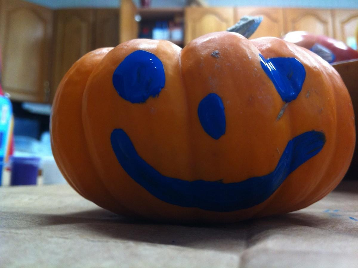 Painted Pumpkin 6