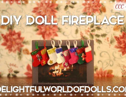 DIY Doll Fireplace