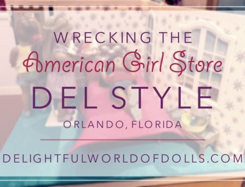 Wrecking the American Girl Store — Del Style — Orlando, Florida