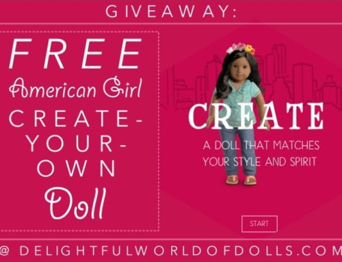 Giveaway: Free American Girl Create-Your-Own Doll