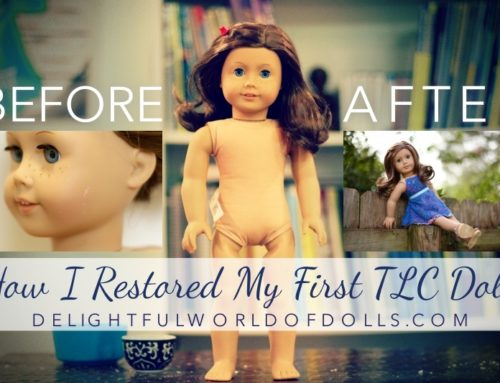How I Restored My First TLC Doll