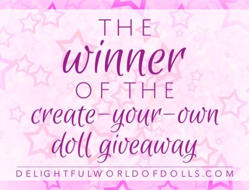 The Winner of the Create-Your-Own Doll Giveaway