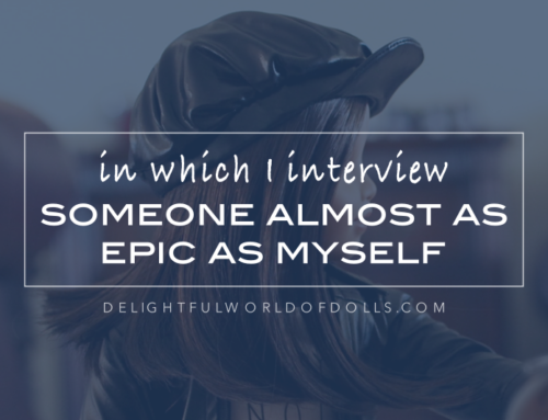 In Which I Interview Someone Almost as Epic As Myself