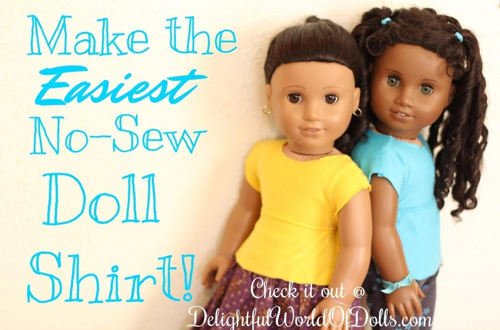 Creative Craft Corner – Make the Easiest No-Sew Doll Shirt!