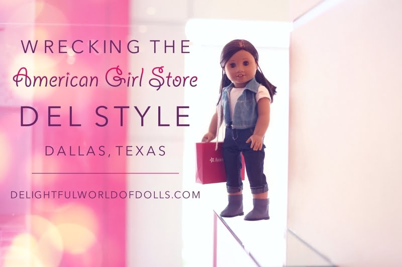 Wrecking the American Girl Store — Del Style — Dallas, Texas