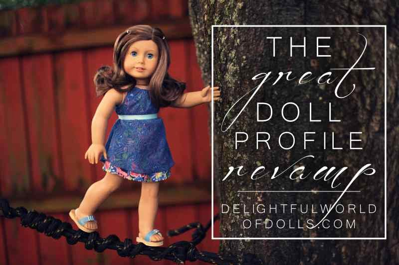 The Great Doll Profile Revamp