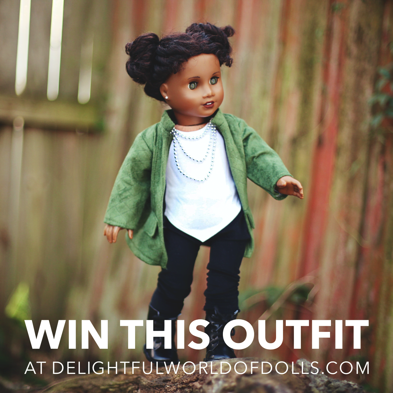 Giveaway: Autumn Stroll Outfit from DreamWorld Collections