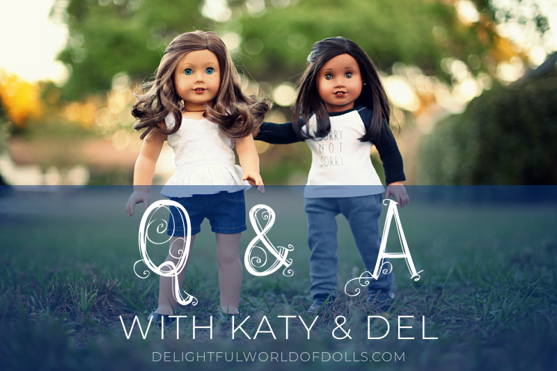 Q&A with Katy and Del + a possible break