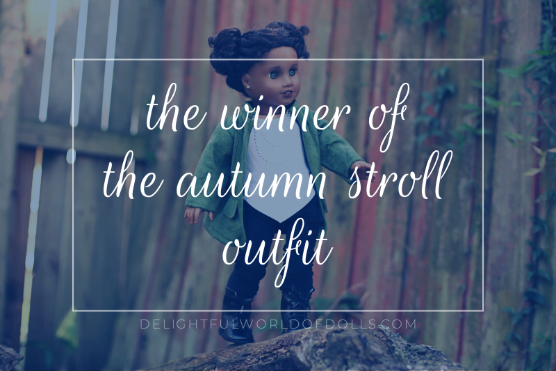 The Winner of the Autumn Stroll Outfit