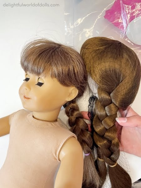 how to restore american girl doll